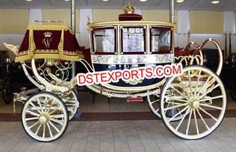 Ancient Wedding Royal Horse Carriage