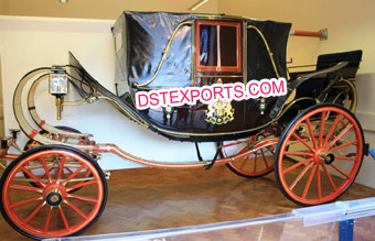 Royal Landau Wedding Horse Carriage