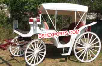 Small Vintage Victoria Horse Buggy