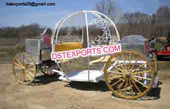 New Style Cinderella Horse Drawn Carriage