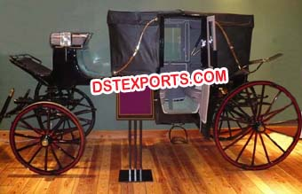 Wedding Black Horse Carriage