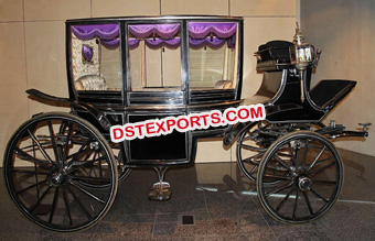 Royal Funeral  Horse Drawn Carriage