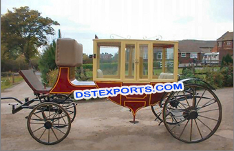 Traditional Wedding Horse  Carriage Buggy