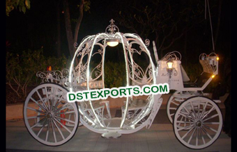 New Lighted Cinderella Horse Buggy