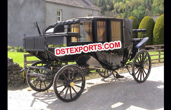 Box Type Horse Drawn Carriage Buggy