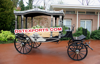 Royal Funeral Horse Carriage Buggy