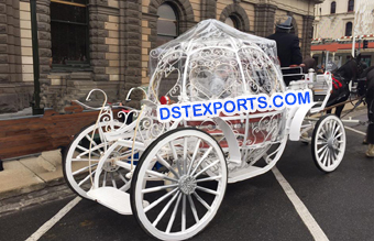 Beautiful  Cinderella Horse Carriage for Wedding