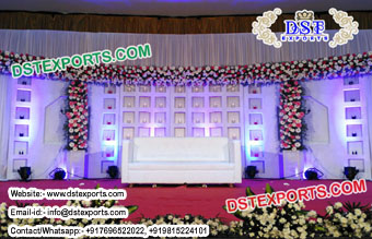 Latest Wedding Candle Wall for Stage Decoration