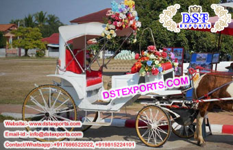 Latest Wedding Horse Drawn Carriage Manufacturer