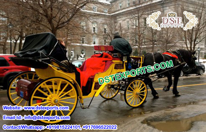 English Wedding Horse Drawn Carriages Manufacturer