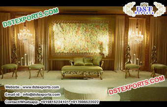 Elegant Look Wedding Backdrop Panels Stage Decor