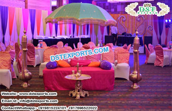 Mehandi Theme Wedding Umbrella Decor