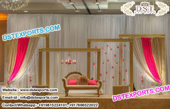 Traditional Backdrop Panels for Stage Decor