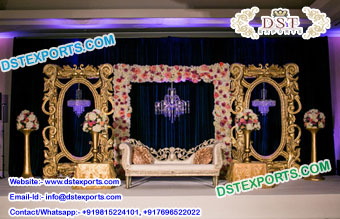 Stunning Look Wedding Back Panels Stage