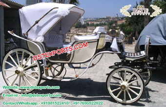 Two Seater Victoria Buggy Vancouer