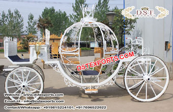 Buy Sweet Wedding Cinderella Horse Carriages