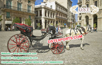 Open Style Horse Drawn Buggy Manufacturer