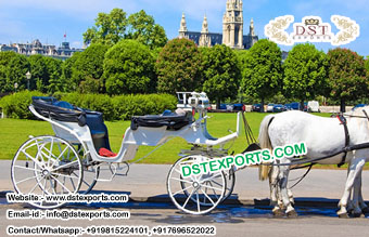 Romantic Vieena Horse Drawn Carriage For Sale